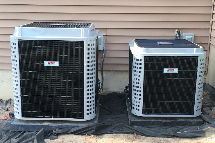 Heat Pump by Absolute Heating and Ventilation